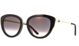 Cartier Trinity Sunglasses – Cat Eye Black-Grey